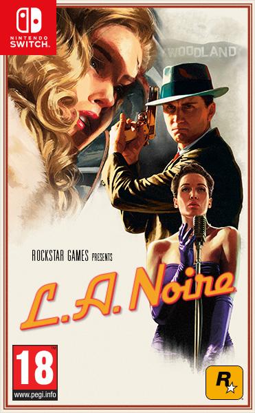 Jaquette PAL L.A. Noire Nintendo Switch