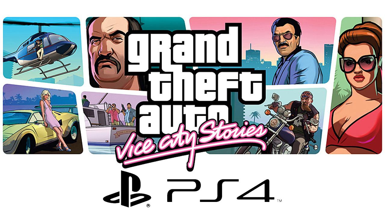 De nouveaux portages de jeux Rockstar Games sur PS4 PlayStation 4