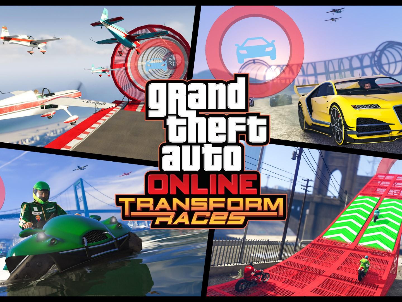 GTA Online Les Courses Polymorphes Sont désormais disponibles