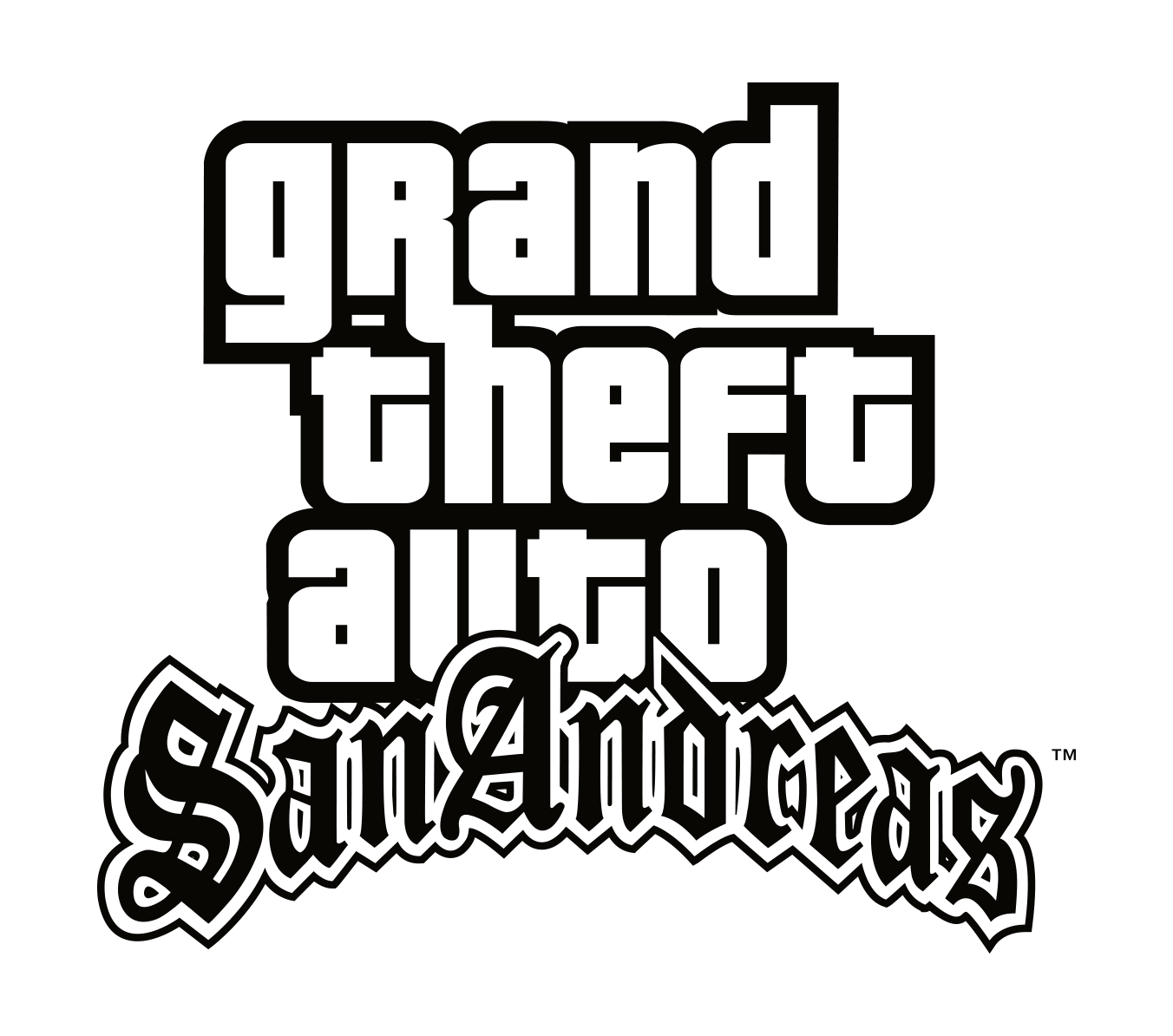 Logo Grand Theft Auto San Andreas