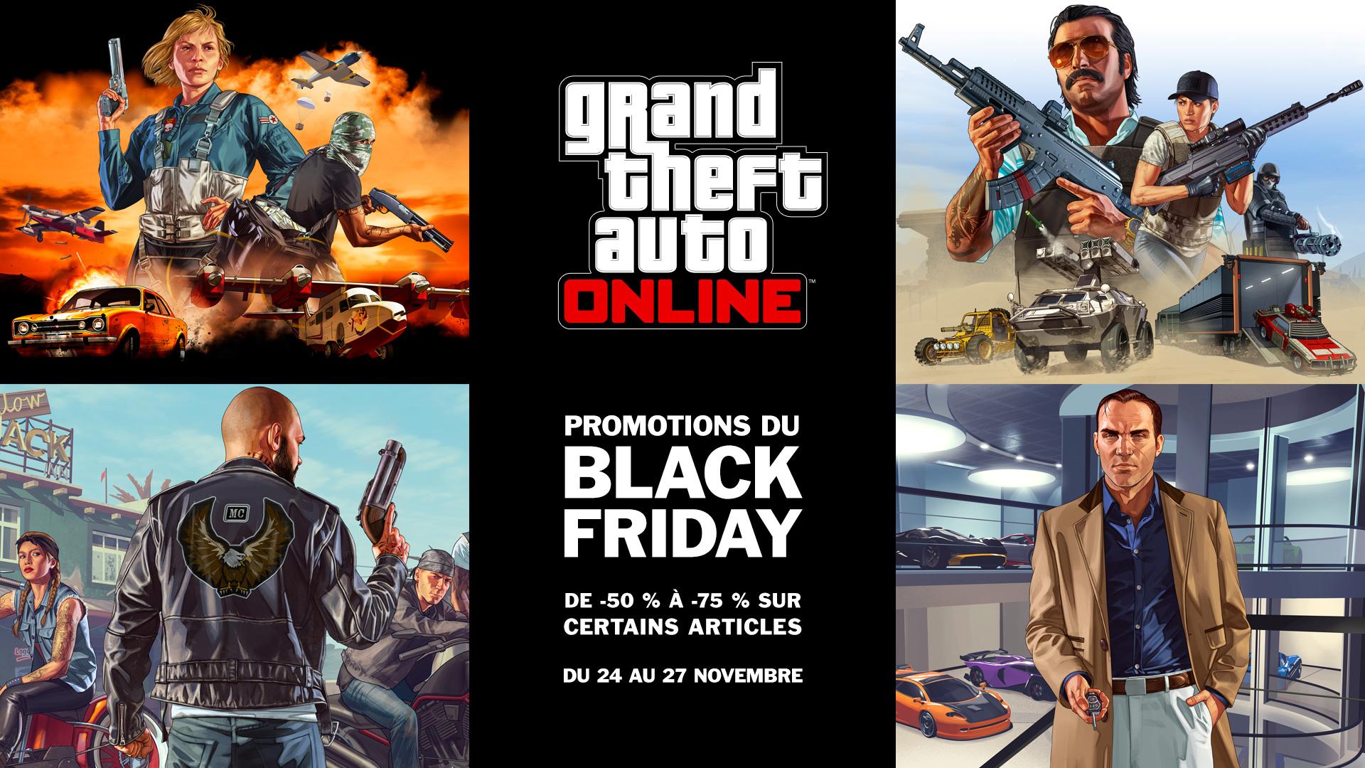 GTA Online Black Friday 2017