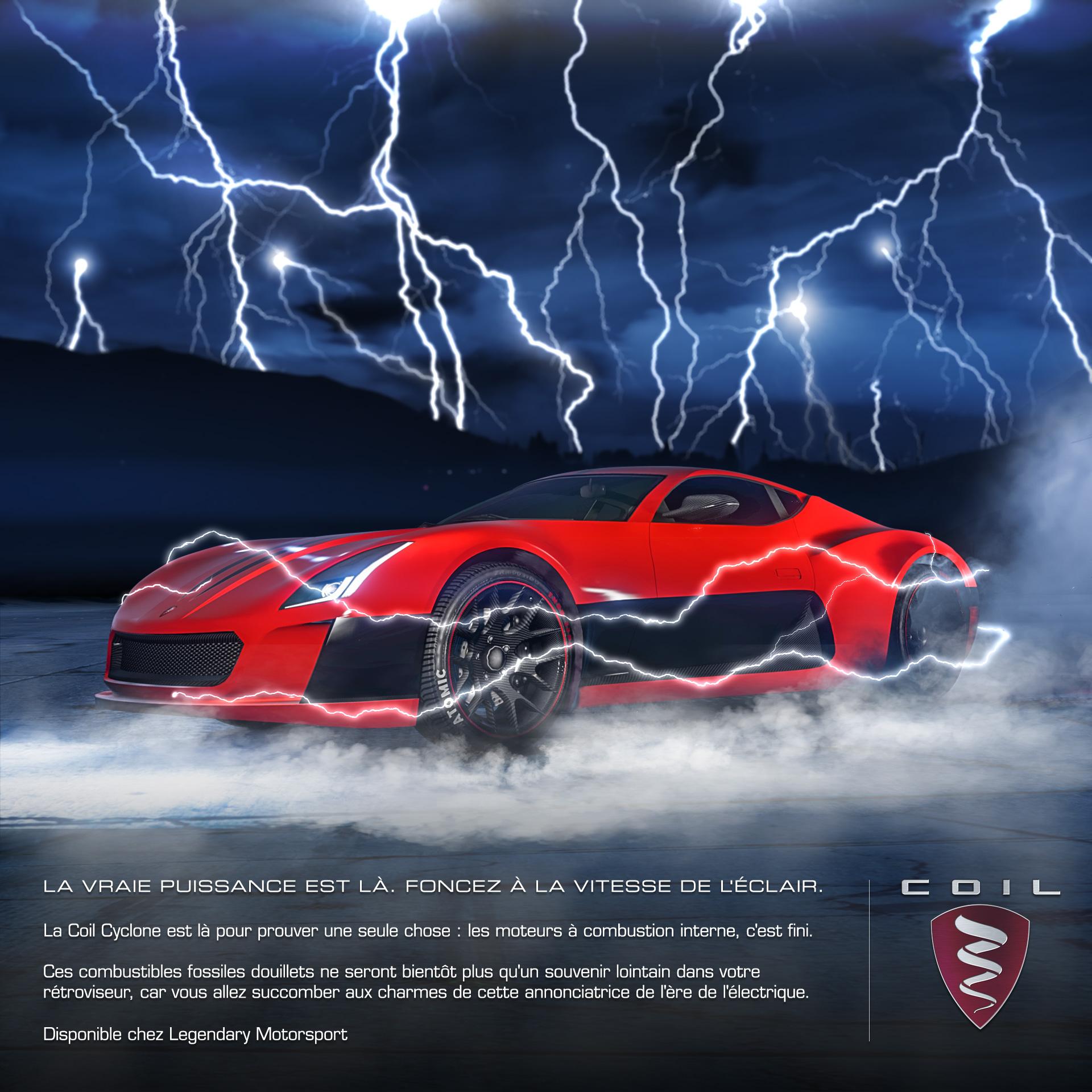 GTA Online - La Coil Cyclone arrive aujourd'hui !