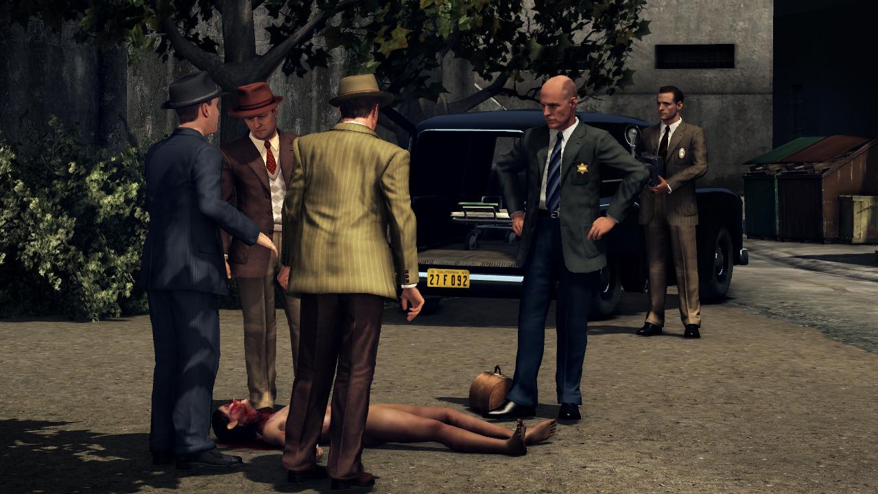 L.A. Noire Black Dahlia