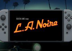 Trailer L.A. Noire Nintendo Switch
