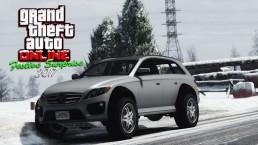 GTA Online Festive surprise 2017 Benefactor Streiter