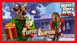 GTA Online Festive surprise 2017
