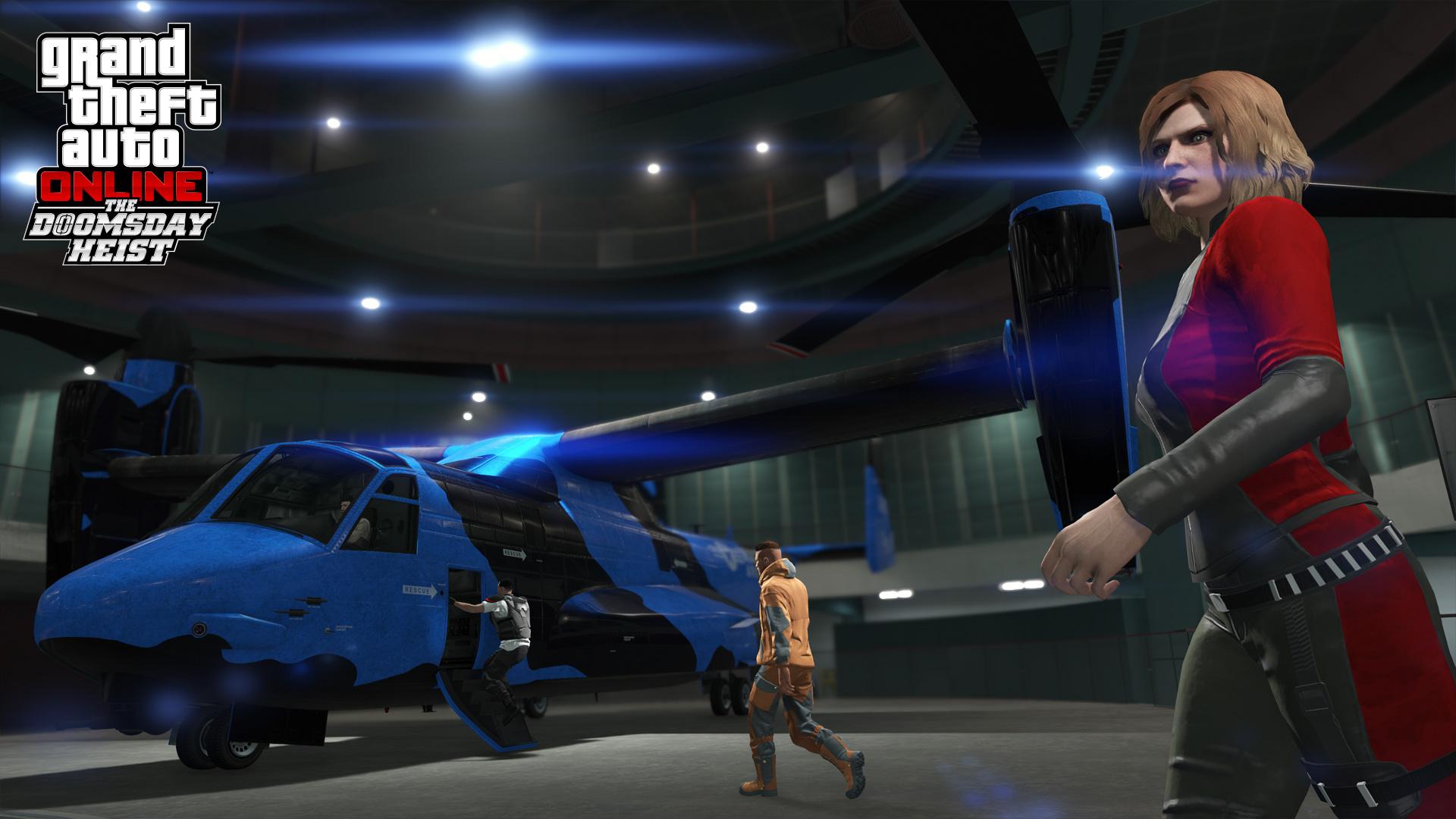 GTA Online Le Braquage de la fin Du Monde : L'Avanger