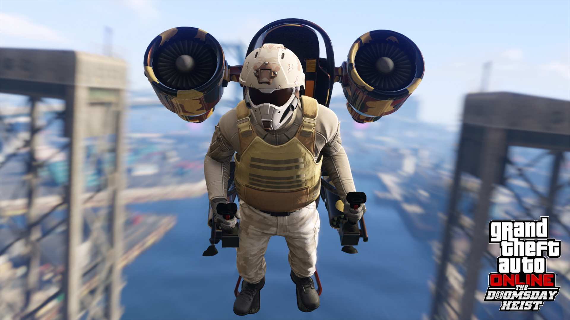 GTA Online Le Braquage de la Fin du Monde : Jetpack !