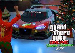 Leak – Les Cadeaux de la Festive Surprise 2017 sur GTA Online dévoilés
