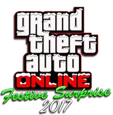 GTA Online : Festive Surprise 2017 Logo