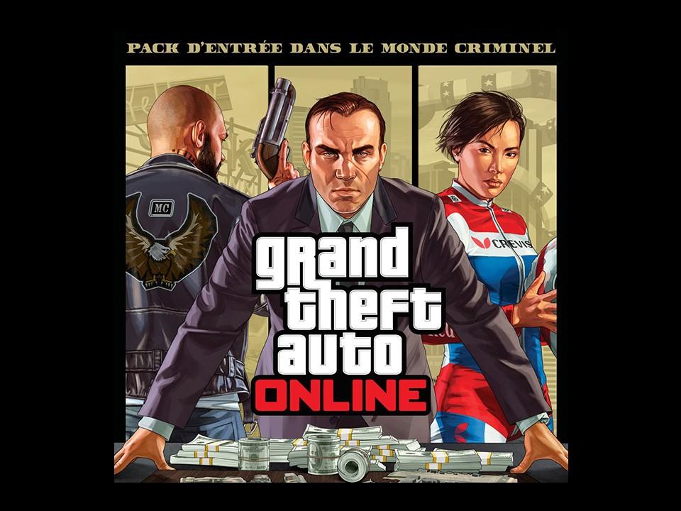 GTA Online DLC Pack Entrée Monde Criminel