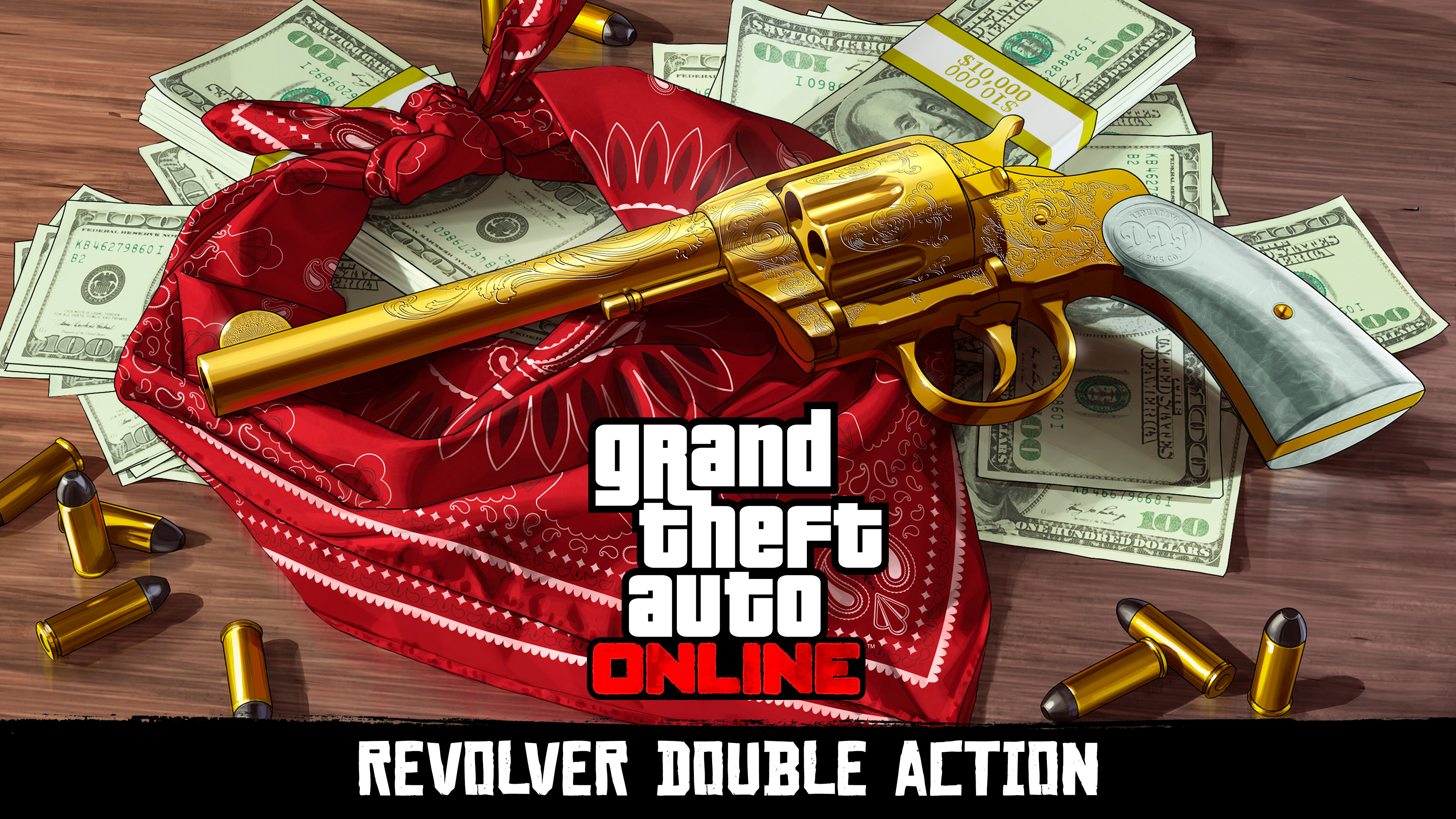 Revolver Double Action - GTA Online - Red Dead Redemption II