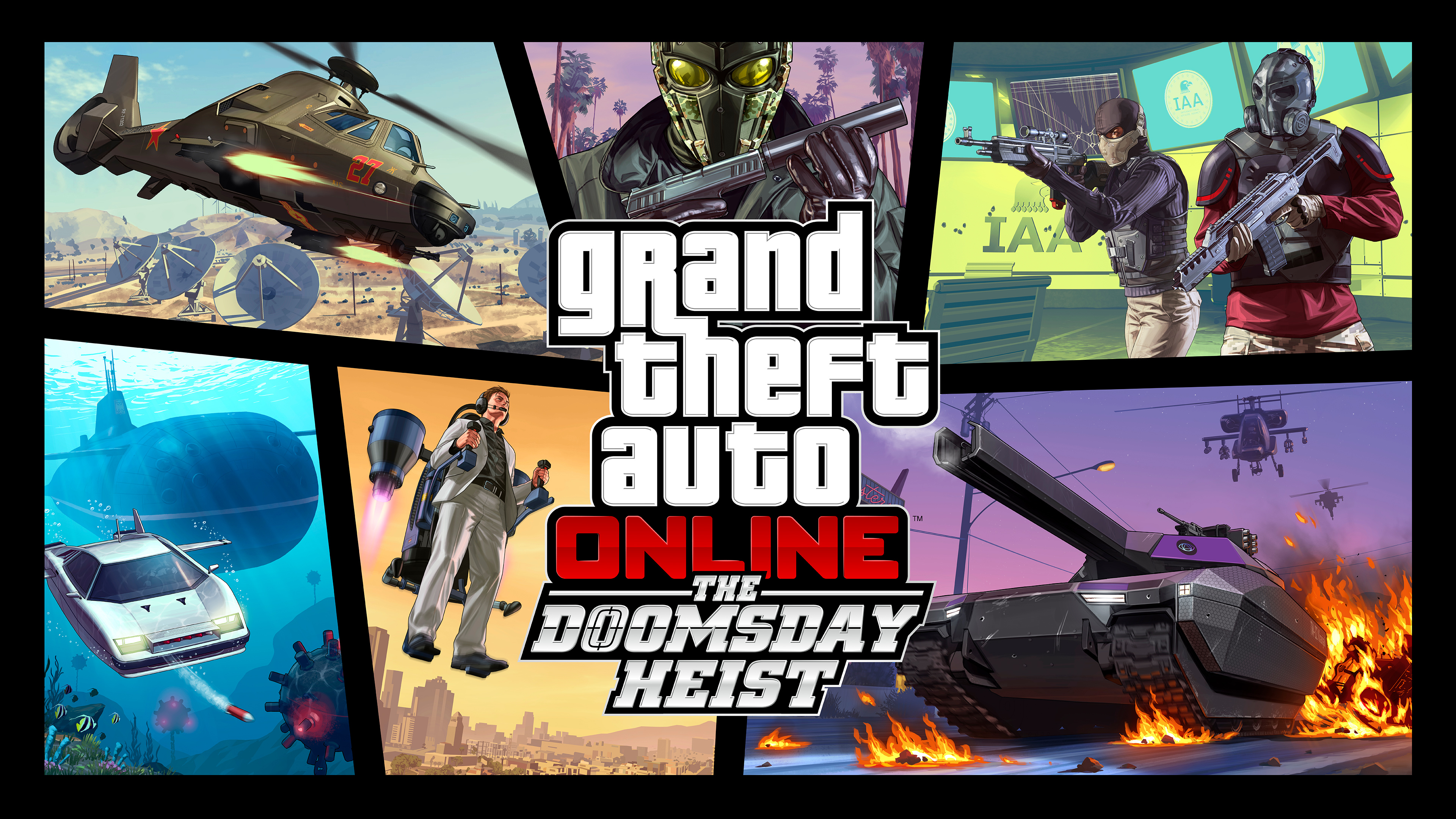 Artwork GTA Online - The Doomsday Hesit