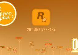 Le Saviez-Vous ? 2018, Les 20 ans de Rockstar Games