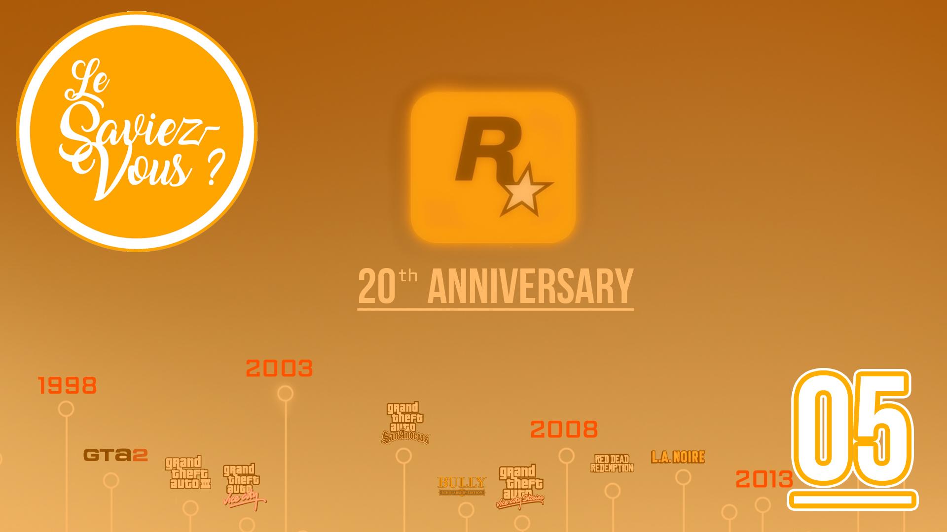 GTA 20th Anniversary - 2018
