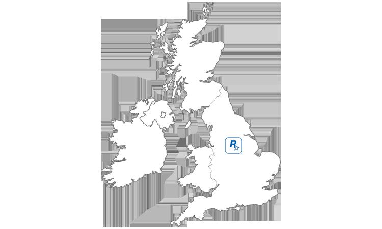Map Rockstar Leeds