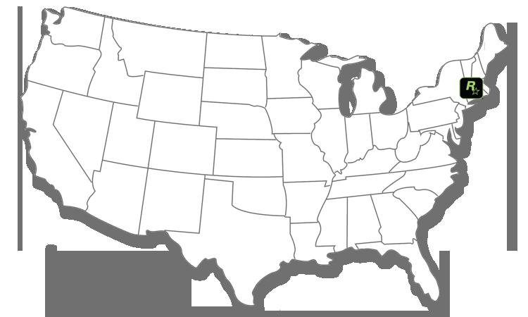 Map Rockstar New England