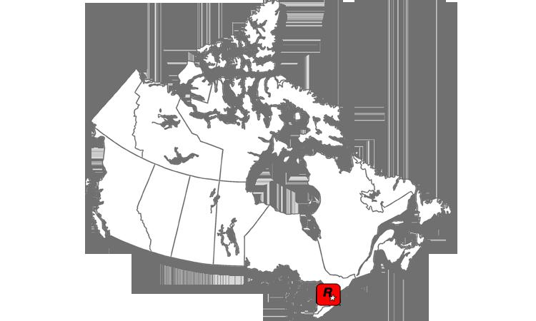 Map Rockstar Toronto