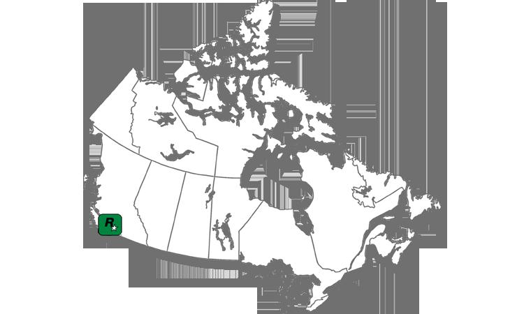 Map Rockstar Vancouver