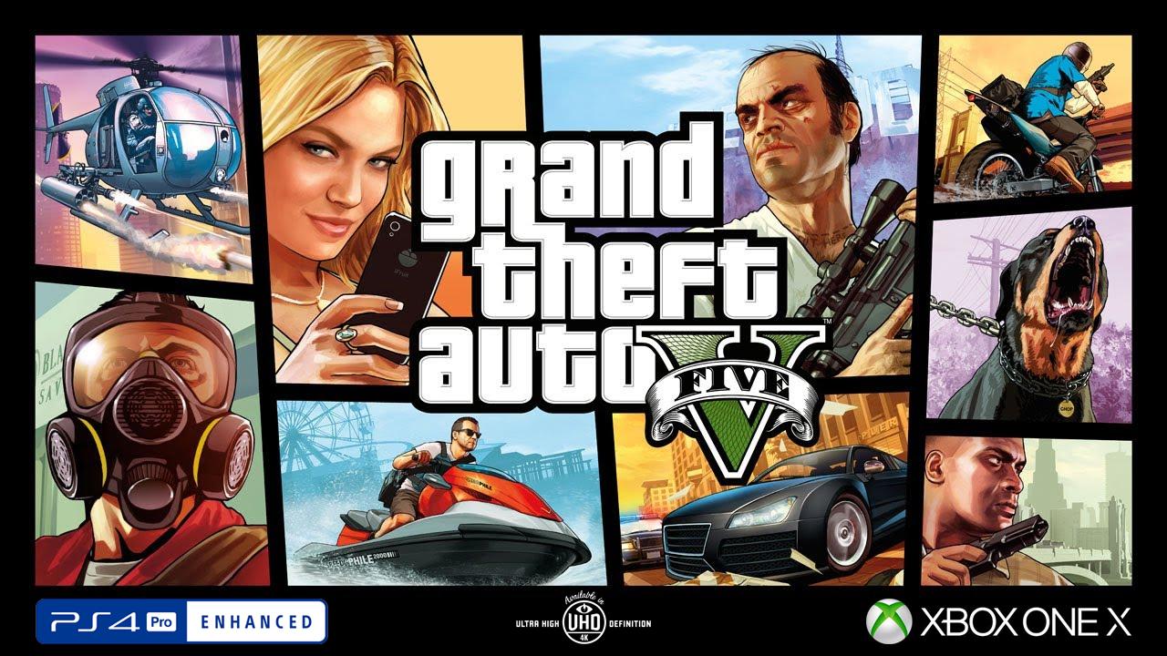GTA V Premium en 4K sur PS4 Pro et Xbox One X le 23 mars ?
