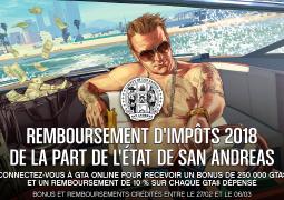 Rockstar Games offre 250.000 GTA$ aux joueurs de GTA Online !
