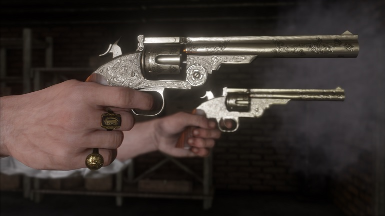 Un revolver dans chaque main