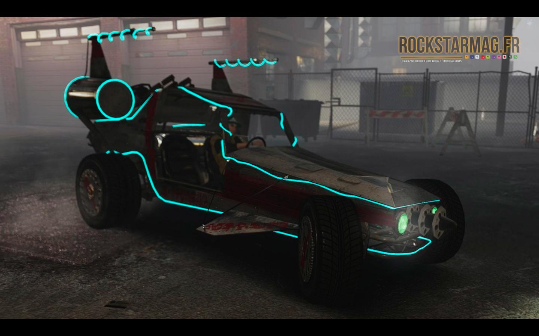 Le Mystère de Grand Theft Auto V - Arrivée de la Space Docker GTA Online ?