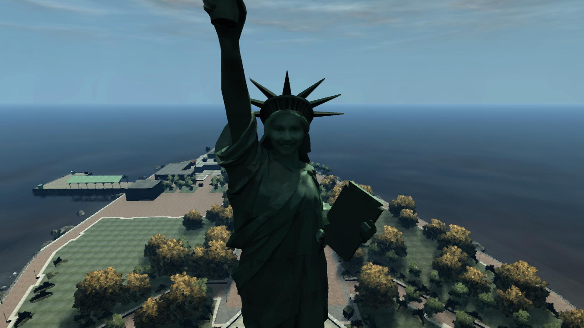 Statue de l'Hilarité