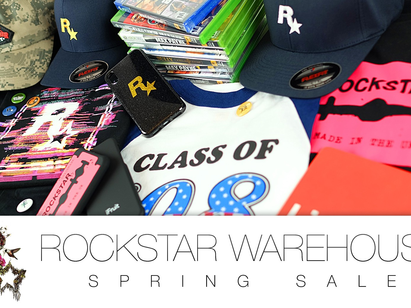 Spring Sale du Rockstar Warehouse