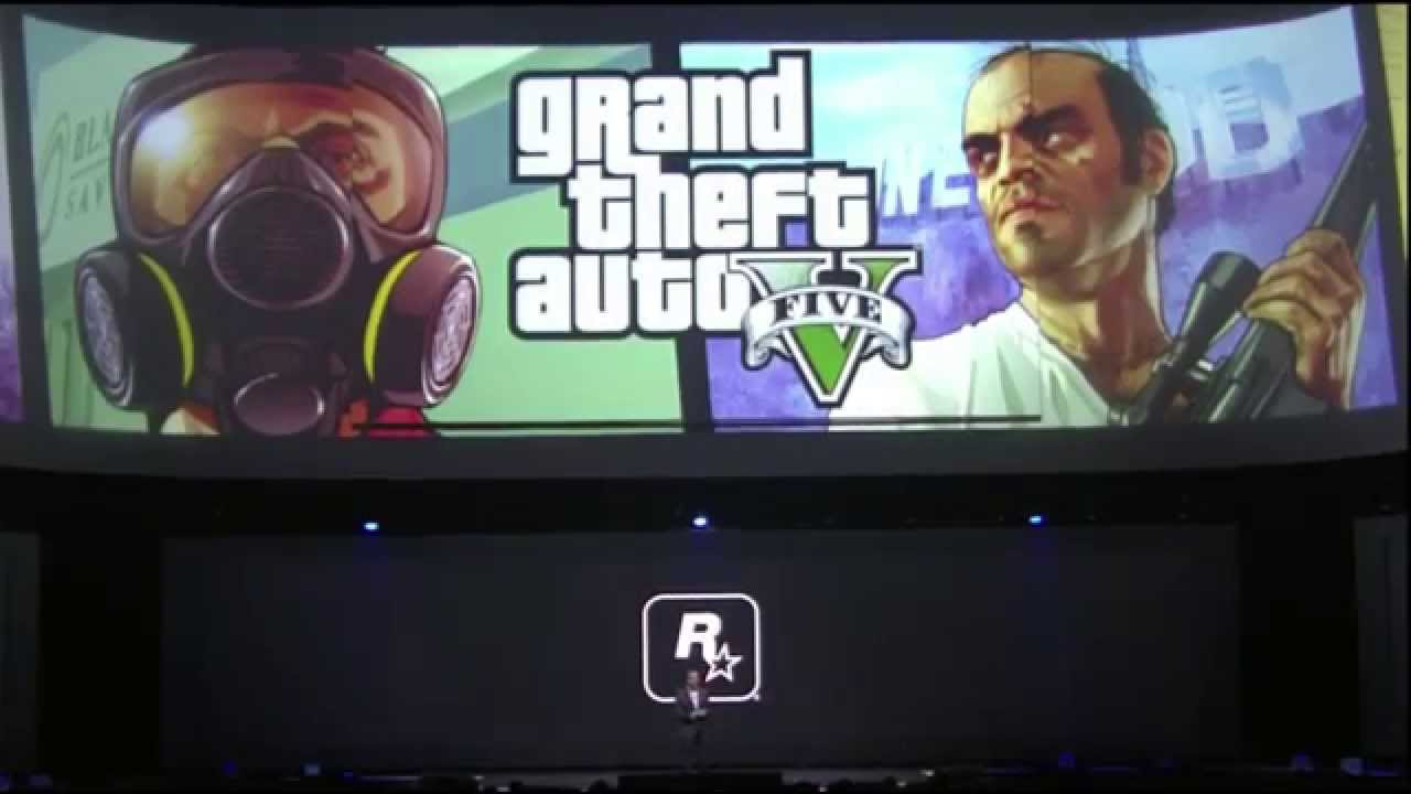 Annonce GTA V Next Gen - E3 2014