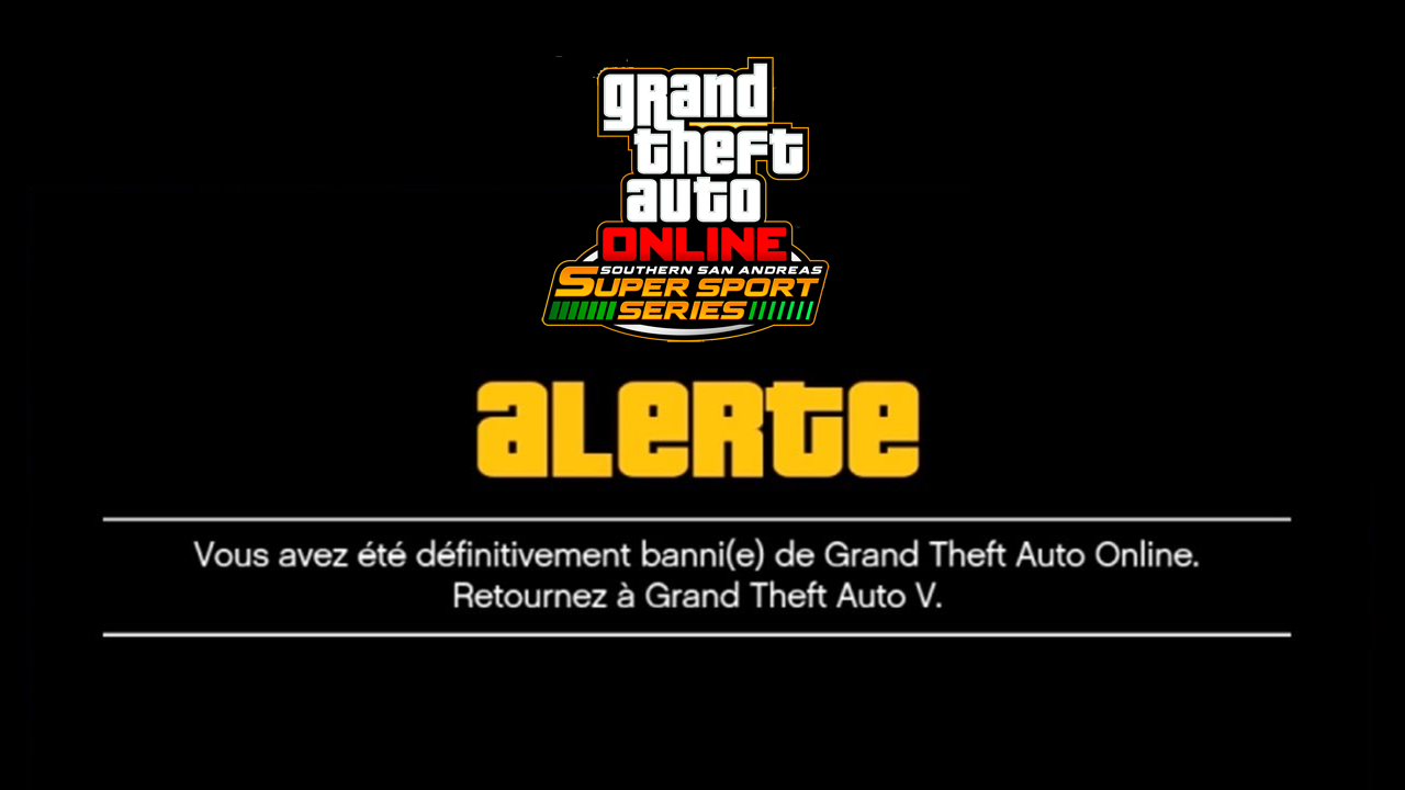 Des soucis de bannissements dans GTA Online depuis une semaine