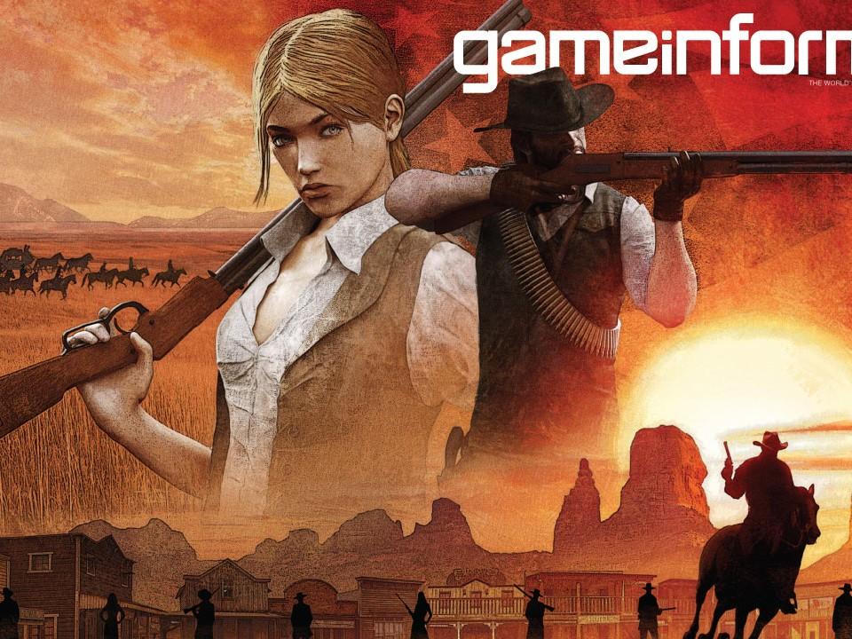 Red Dead Redemption II sur Game Informer