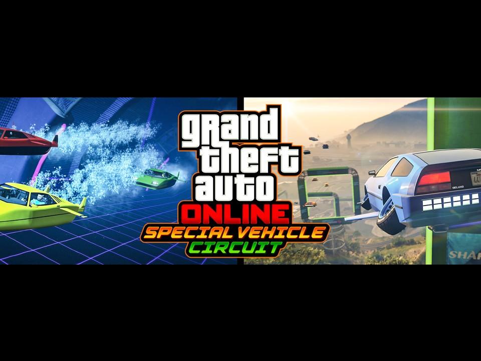 GTA Online Courses Casse Cou Véhicules Spéciaux