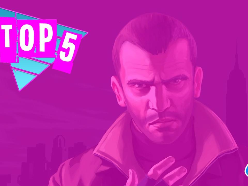 Top 5 by Rockstar Mag - Les Choses que l'on a adoré dans GTA IV - GTA 4