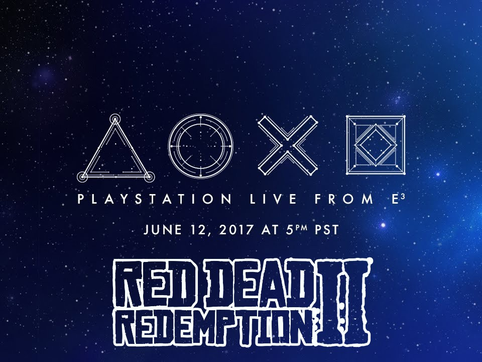 Conférence PlayStation E3 2018 - Red Dead Redemption II