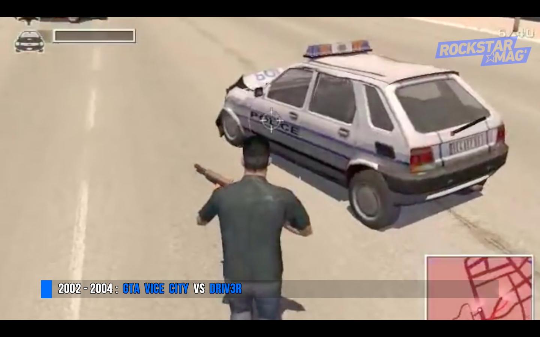 Rival GTA Vice City - Driver 3