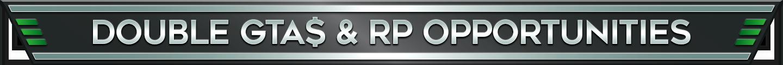GTA Online Double RP Semaine 19 Juin 2018