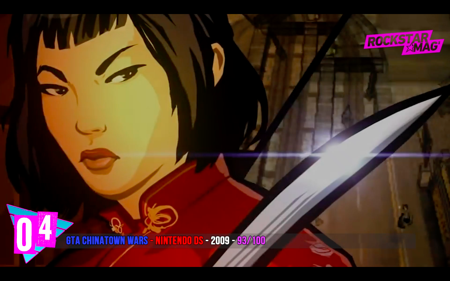 Top 05 - 04 - GTA Chinatown Wars