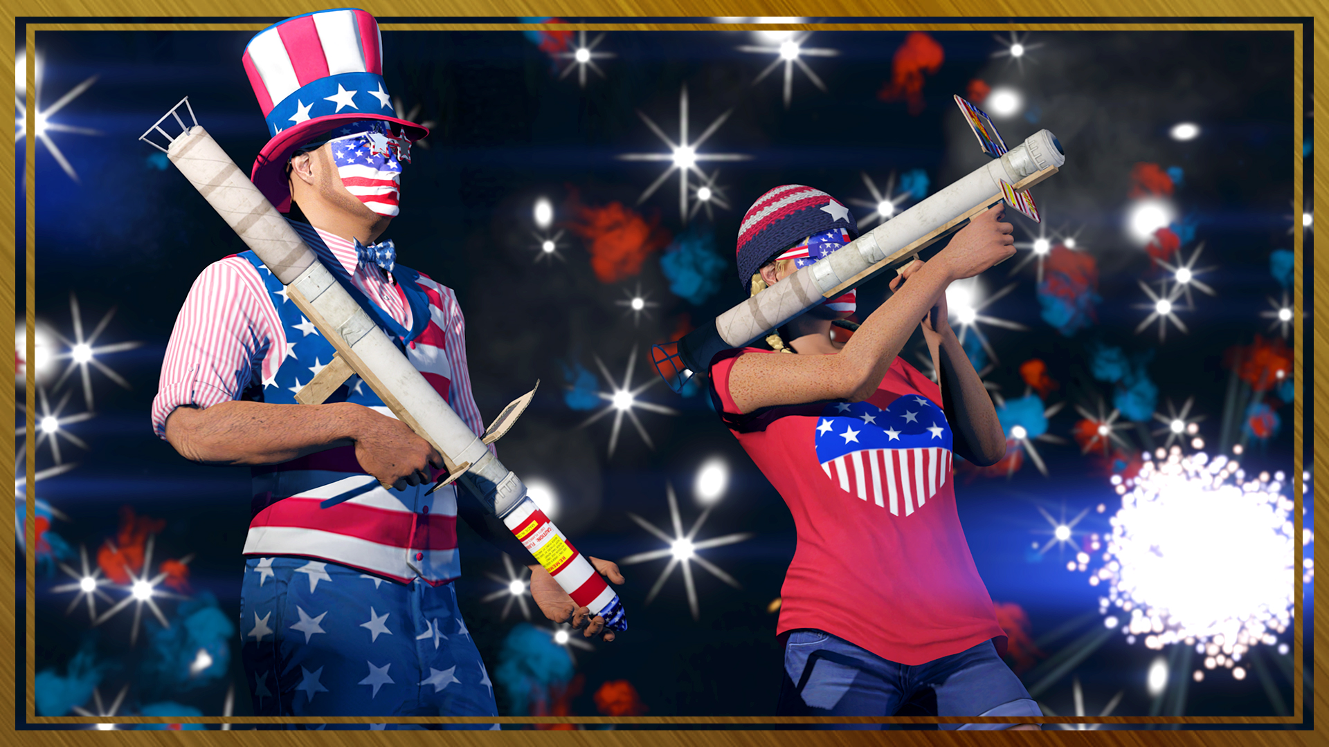 Bonus Jour de l'Indépendance 2018 GTA Online