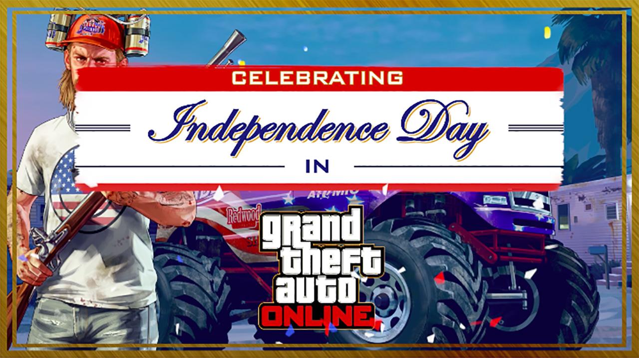 Jour de l'indépendance 2018 GTA Online