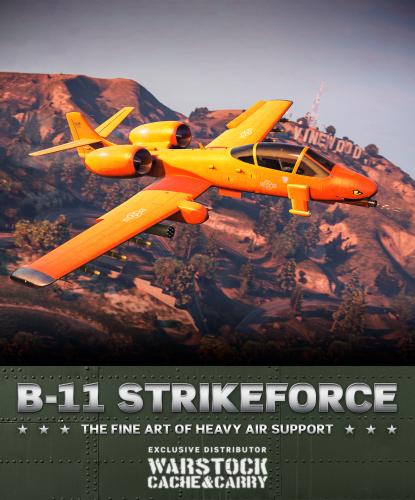 B-11 Strikeforce dans GTA Online