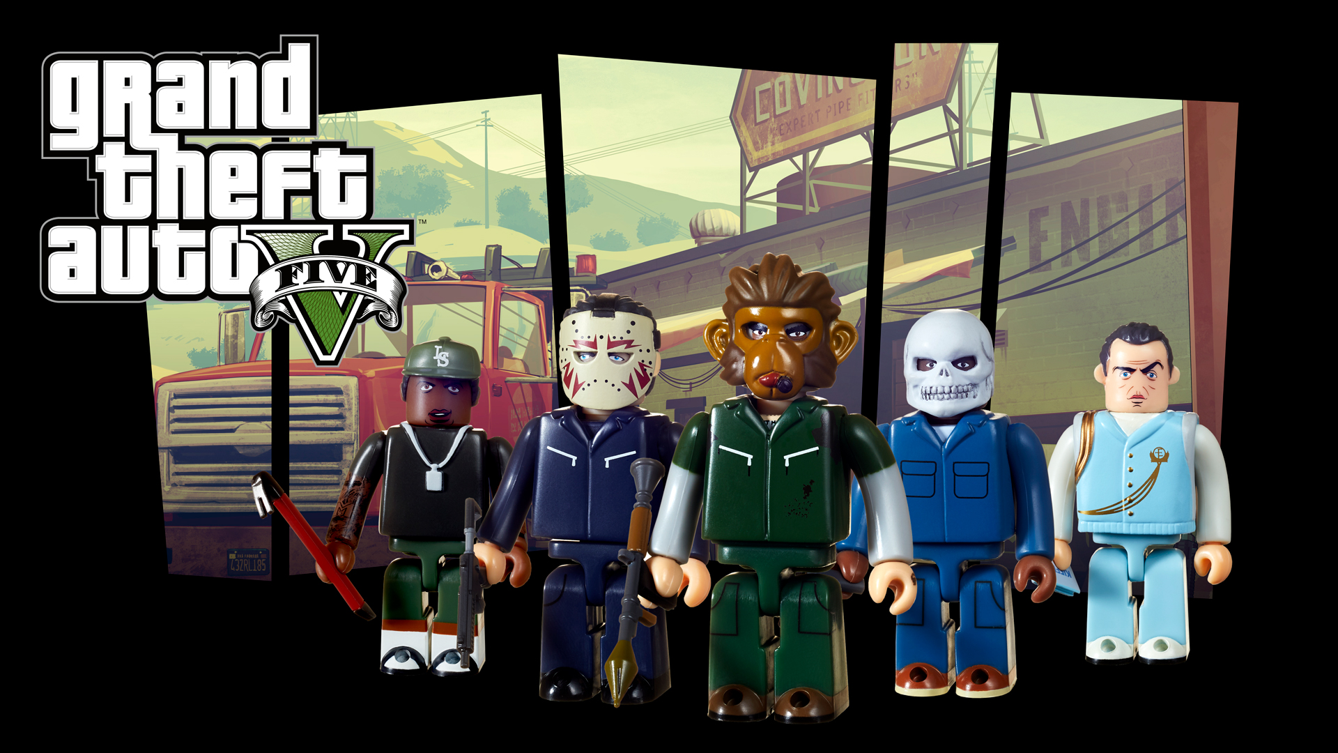 Kubricks Grand Theft Auto V Heists Edition