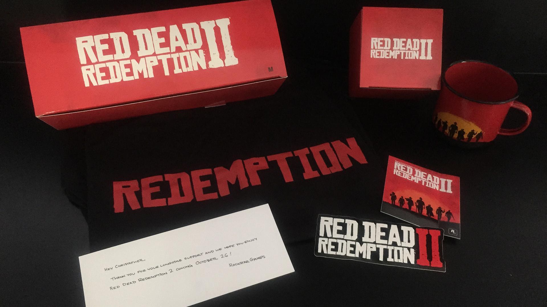 Unboxing Red Dead Redemption II Colis Rockstar Games
