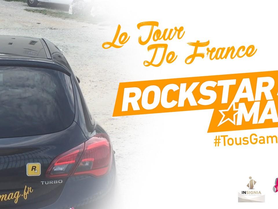 La Voiture du Tour de France #TousGamers de Rockstar Mag