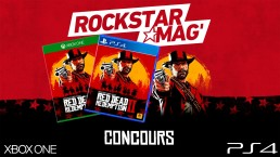 Concours Rockstar Mag Red Dead Redemption II