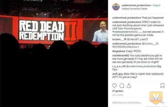 Démo Ennuyeuse Red Dead Redemption II