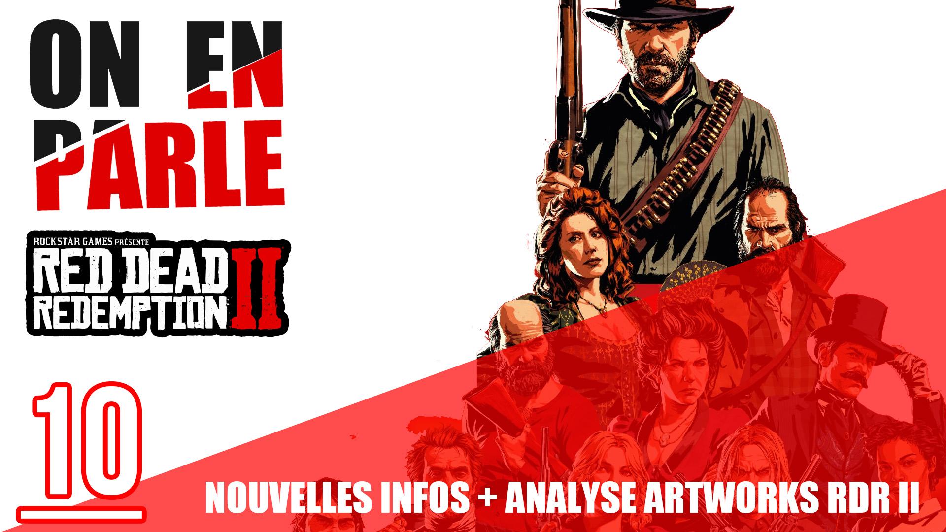 Nouvelles infos et analyse des artworks de Red Dead Redemption II