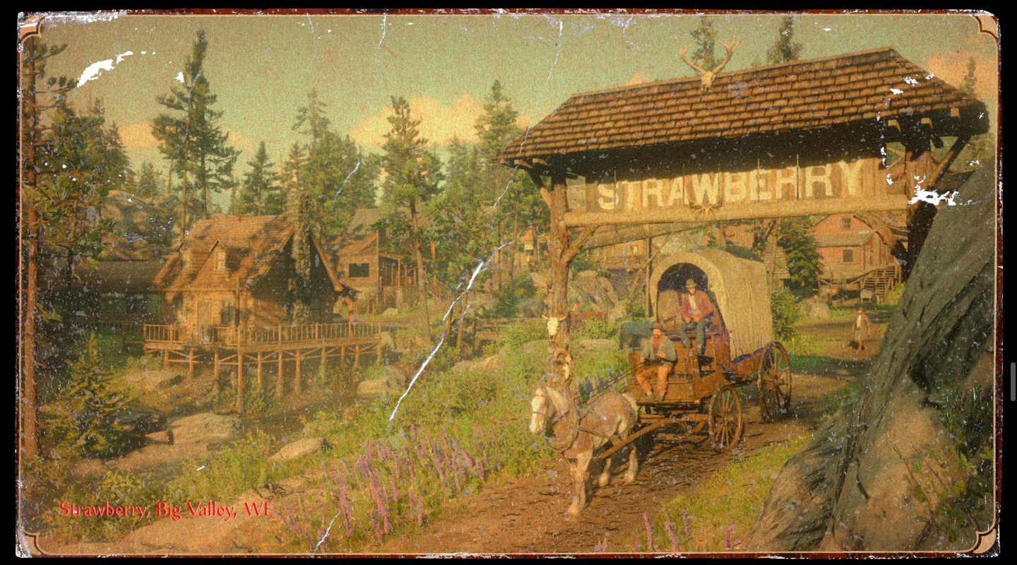 Red Dead Redemption II - Strawberry