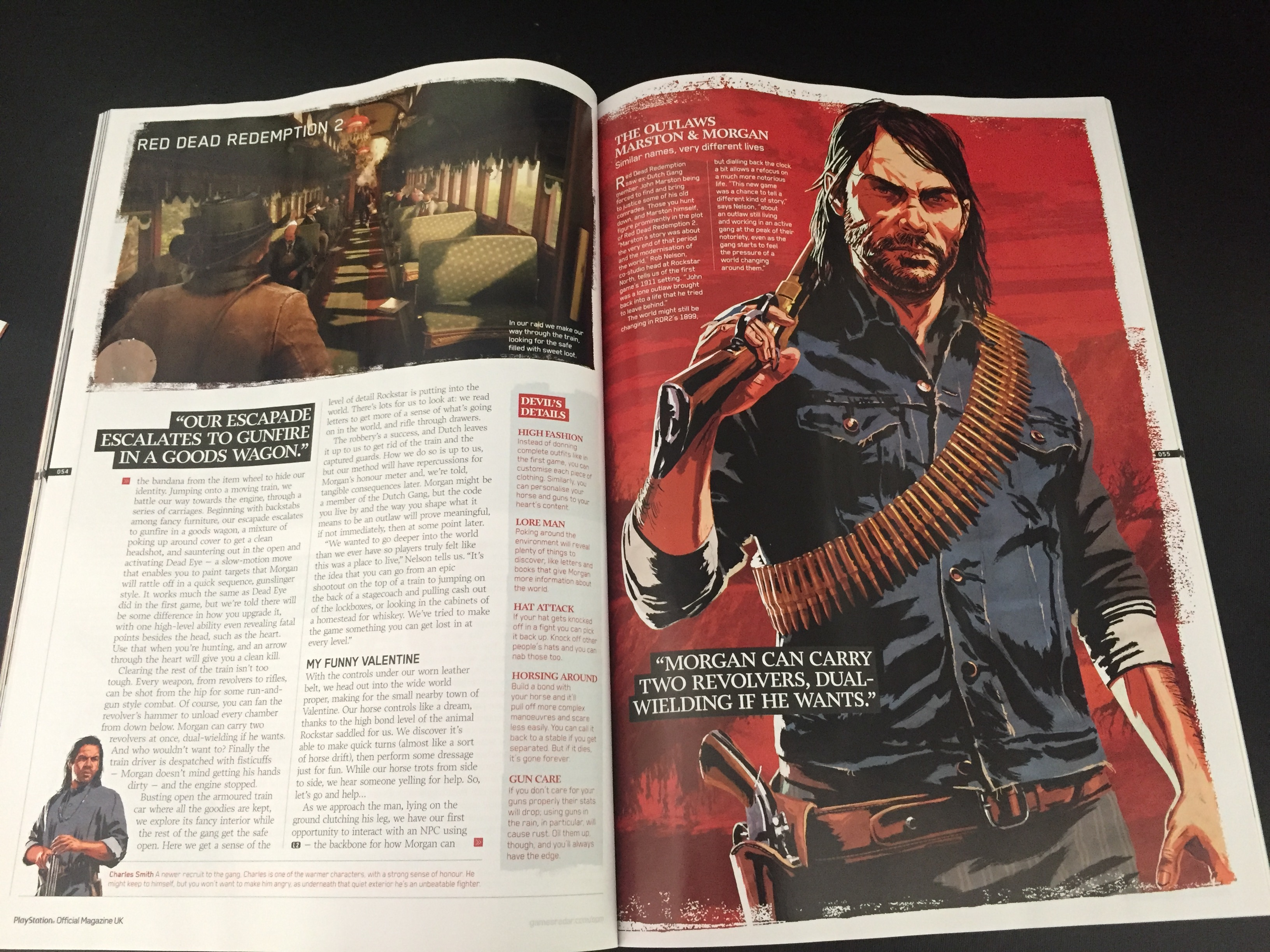 PlayStation Magazine UK Red Dead Redemption II - Preview