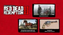 Contenu Avant Première PlayStation RDR II